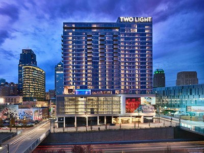 Two Light Luxury Apartments has been awarded two Best in American Living Awards by the National Association of Home Builders. Given annually, this award recognizes the most creative and talented building industry professionals who have redefined excellence for homes and communities nationally and internationally. Two Light opened last May in the heart of the Kansas City Power & Light District.