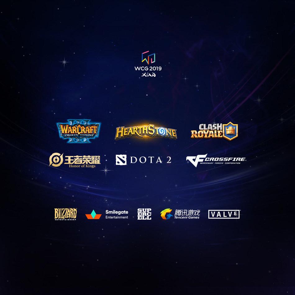 WCG 2019 Games' Titles