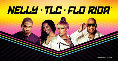 Nelly, TLC And Flo Rida Announce Summer Amphitheater Tour
