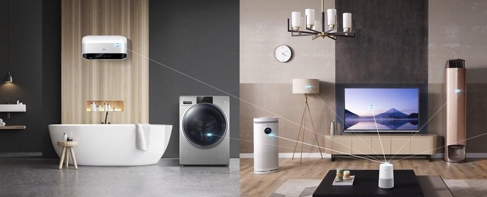 Haier vai apresentar solução de casa inteligente composta de sete marcas na AWE 2019, para que usuários de todo o mundo customizem sua vida inteligente (PRNewsfoto/Haier Home Appliances)