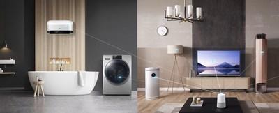 Haier dará a conocer, en AWE 2019, una solución de 7 marcas para hogares inteligentes para que los usuarios internacionales personalicen sus vidas inteligentes. (PRNewsfoto/Haier Home Appliances)