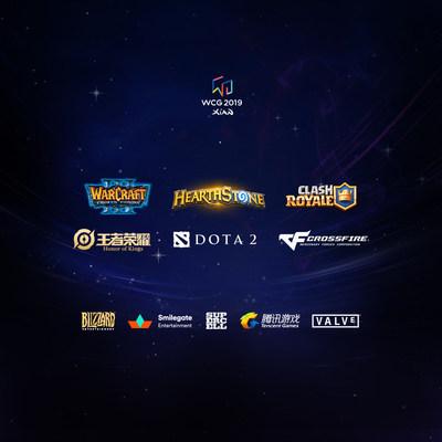 Les titres de jeux des WCG de 2019