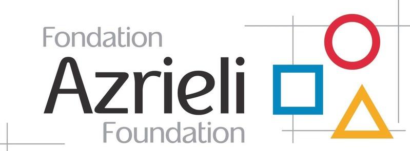 Logo: Azrieli Foundation (CNW Group/Brain Canada Foundation)