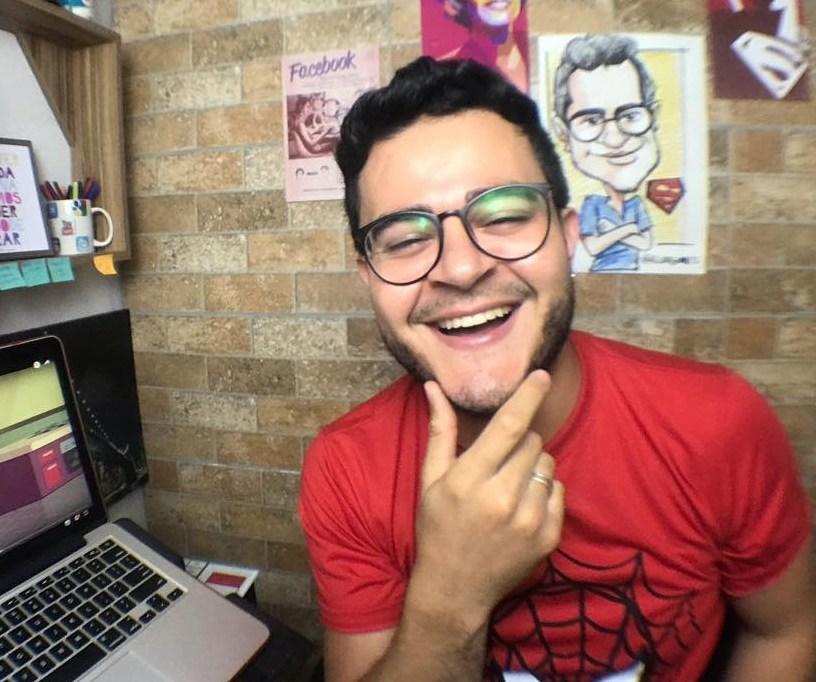 ELDO GOMES: Em Brasília, youtuber celebra 1 milhão de visualizações com canal de entretenimento (PRNewsfoto/Eldo Gomes)