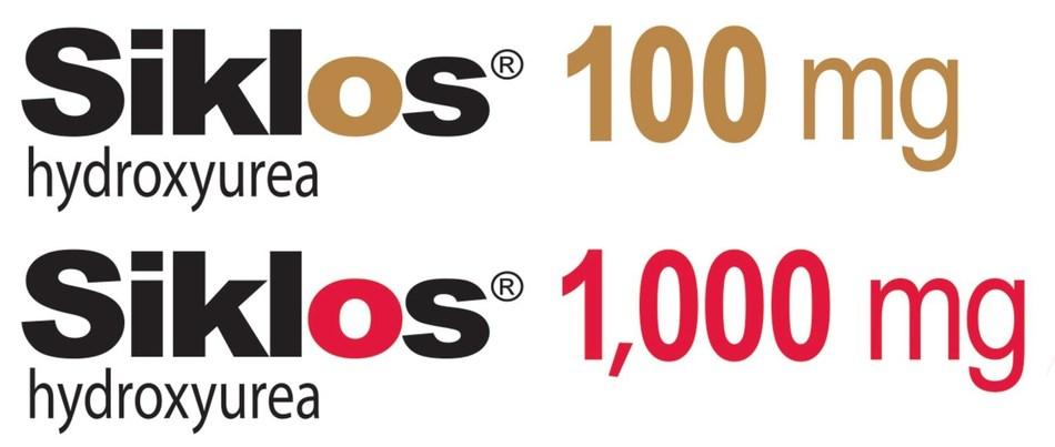 Siklos 100mg Siklos 1,000 mg logos (CNW Group/Medunik USA)