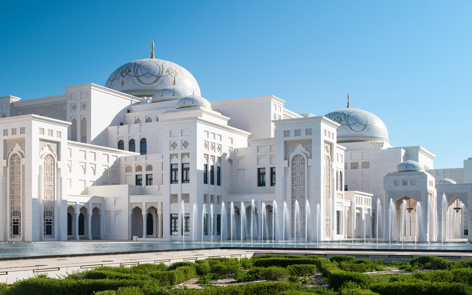 Exterior of Qasr-Al-Watan (PRNewsfoto/Qaser Experiences)