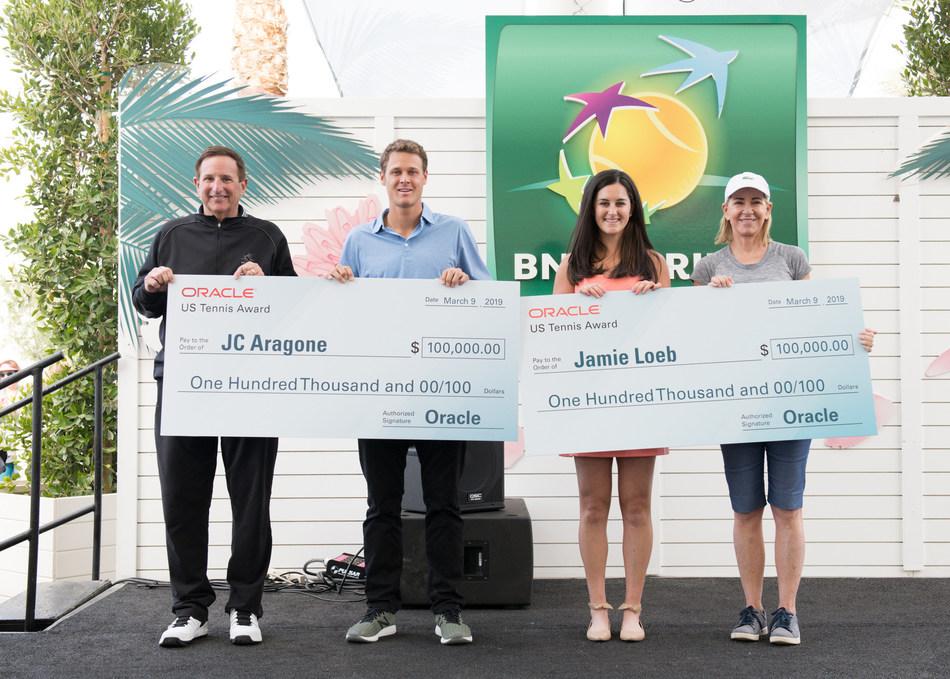 Jamie Loeb, JC Aragone Win 2019 Oracle US Tennis Awards