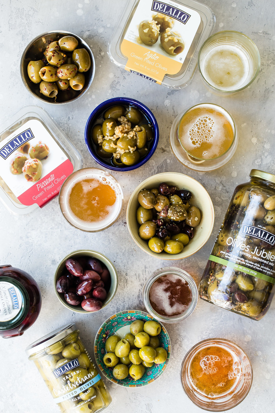 DeLallo's new guide on olives and beer gives you a game plan for your next entertaining occasion—from happy hour bites and movie night snacking to springtime get-togethers and summer barbecues. Olives are a tasty alternative to the ordinary snacking carb, one that brings on the thirst with its salty, savory bliss.  Explore more at http://bit.ly/2Tt03Jt