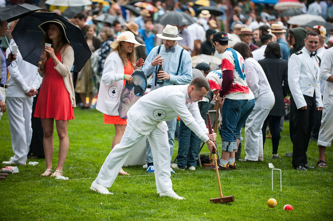 The Annapolis Cup Croquet Match - St. John's vs USNA | St. John's College