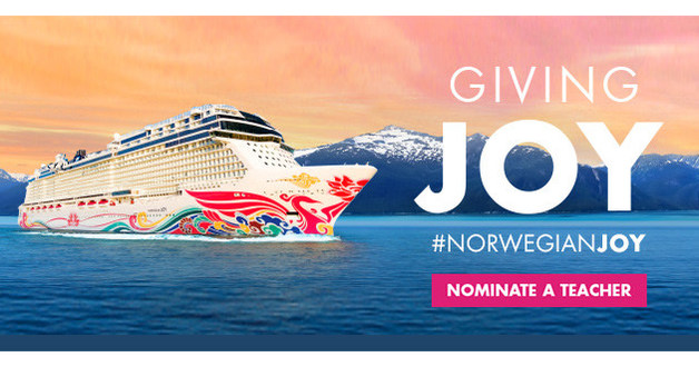 Norwegian Cruise Line Launches Giving Joy Campaign to Reward