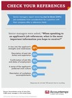 Survey: 1 In 3 Job Candidates Removed From Consideration Following Reference Checks