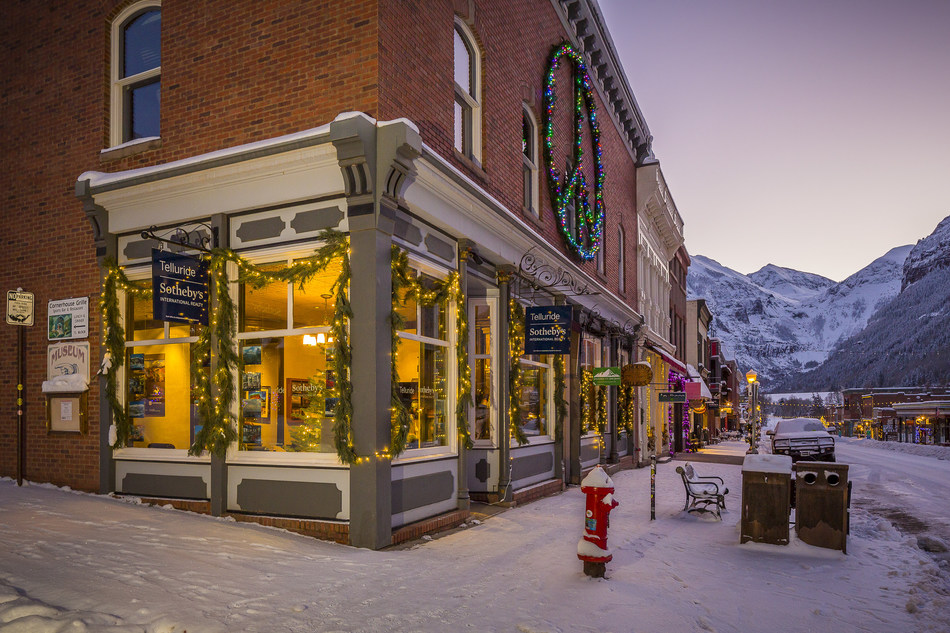 One of Telluride's office locations, at 137 West Colorado Avenue in Telluride, CO.
