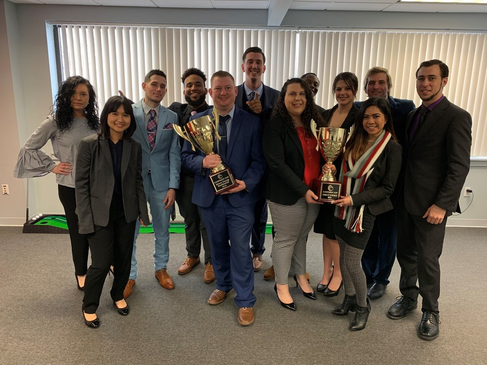 The team at Boston Direct was recognized with a Campaign Cup award for excellence for 2018.