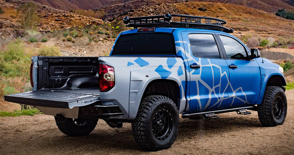 """Show-goers can take advantage of special discounts on LINE-X and Truck Gear by LINE-X products at the 2019 Bassmaster Classic Show. Celebrating the spirit of the outdoors, LINE-X has brought its """"Ultimate Outdoor Rig"""" – a Toyota Tundra 4x4 Crewmax coated in its LINE-X ULTRA coating for vehicle exteriors. The Toyota Tundra is also outfitted with the LINE-X's PREMIUM bedliner and first-rate Truck Gear by LINE-X accessories designed for adventures in the wild."""