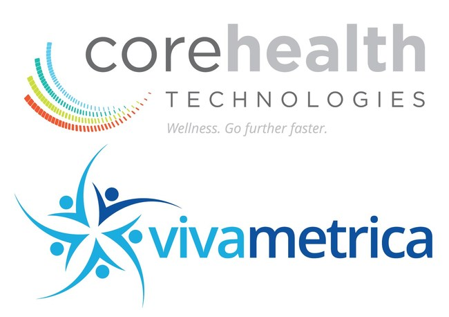 CoreHealth and Vivametrica Logos