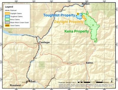 Figure 3 - Kena Project (CNW Group/Prize Mining Corporation)