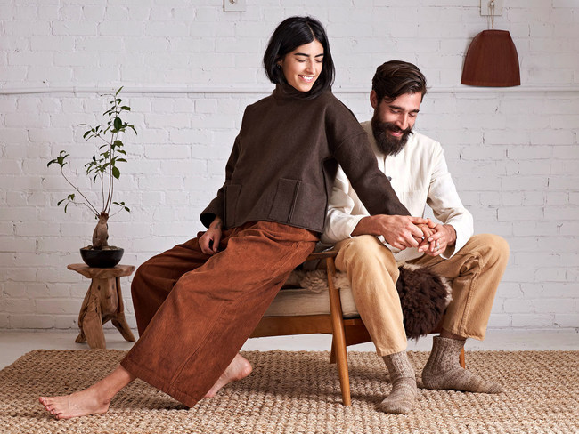 Undyed Tops and Bottoms for Men and Women from Housework