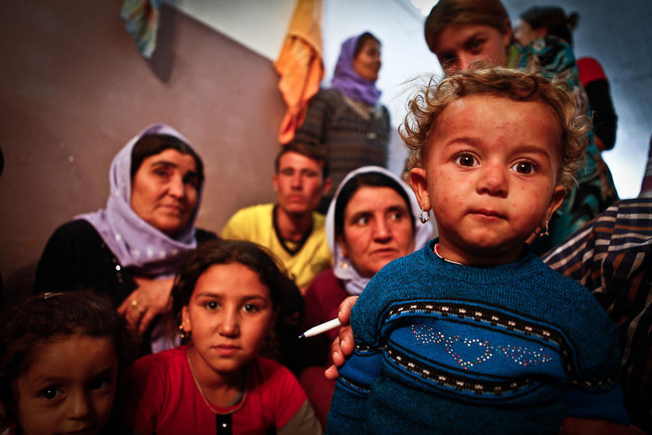 Syrians fleeing conflict often leave everything behind, so they need all the basics to sustain their lives: food, clothing, healthcare, shelter, and household and hygiene items (CNW Group/World Vision Canada)