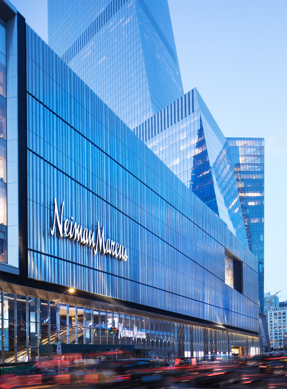 9f79ca5f856acf Neiman Marcus Opens A Multi Level Retail Experience At Hudson Yards ...