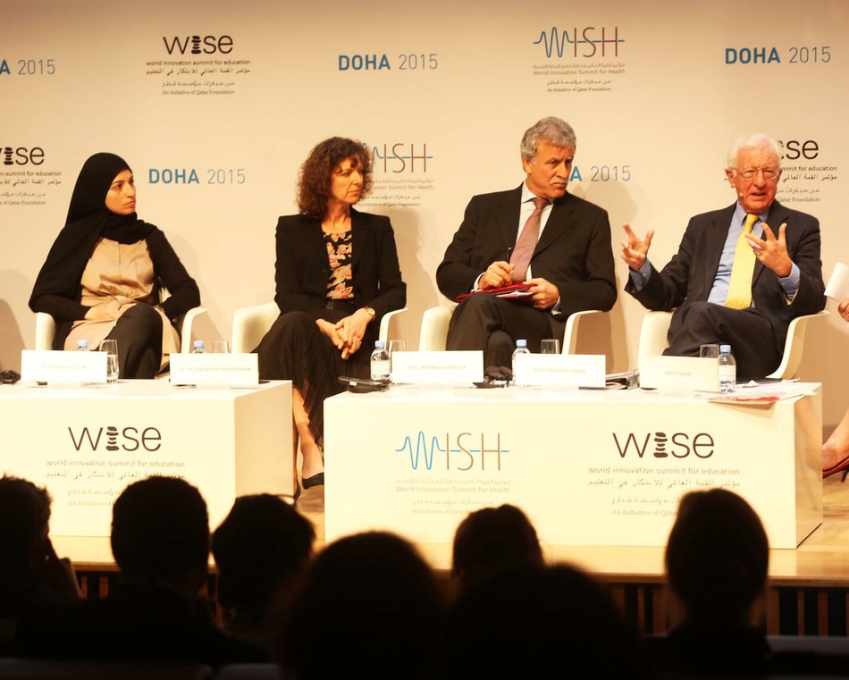 A panel at QF-organized conference