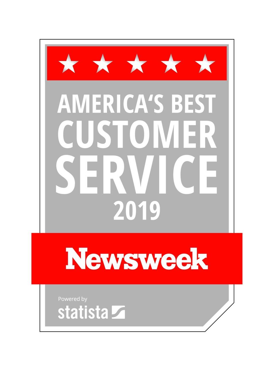 Lighting New York Awarded with America's Best Customer Service 2019 Award by Newsweek.