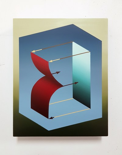 One of the artworks from the Printemps du MAC auction. Nicolas Grenier, Relationship (Study), 2019 (CNW Group/Fondation du MAC)