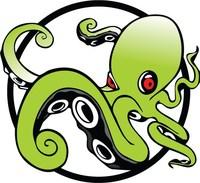 Kraken Kratom Logo Green Circle