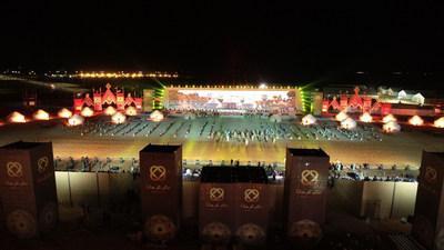 Nomad Universe Opening Ceremony (PRNewsfoto/World Ethnogames Confederation)