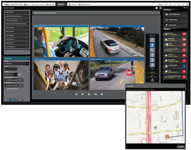 LENSEC Introduces Perspective VMS® Fleet Security Management