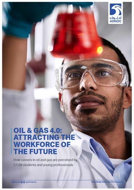 """Workforce of the Future"" Survey - Cover page (PRNewsfoto/ADNOC)"