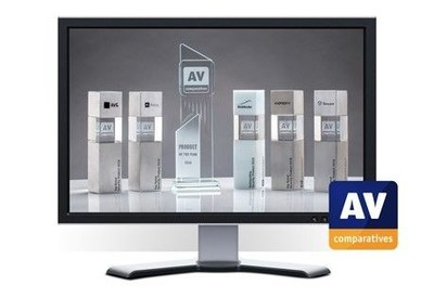 AV-Comparatives' Awards Ceremony and Summary Report 2018 (PRNewsfoto/AV Comparatives)