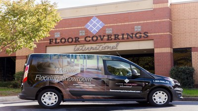 Floor Covering International Greenwich, CT Van