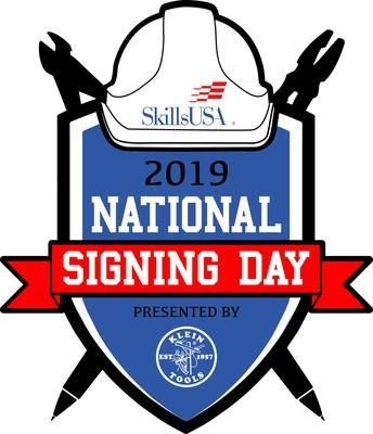 SkillsUSA 2019 National Signing Day Presented by Klein Tools (PRNewsfoto/Klein Tools)