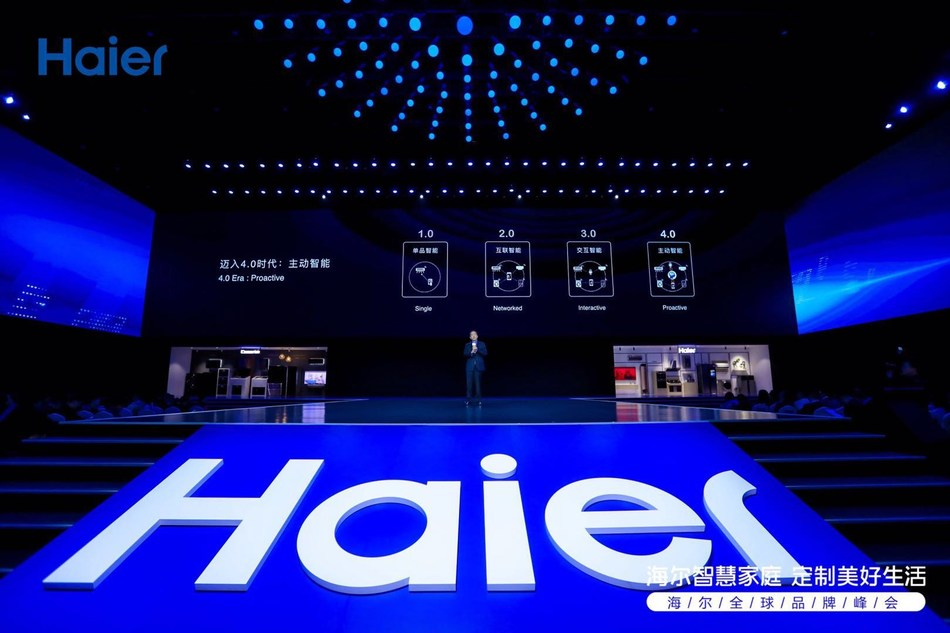 Haier Smart Home Solution Moves to Proactive 4.0 Era.