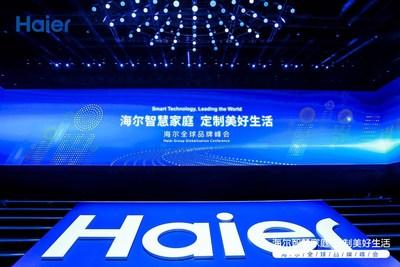 Haier organiza su conferencia de globalización en Shanghái, orientados a ser los primeros con la tecnología para hogar inteligente más moderna. (PRNewsfoto/Haier Home Appliances)