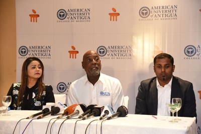 Sir Vivian Richards Invites Indian Students for the Global Medical Programme at Manipal's American University of Antigua, College of Medicine
