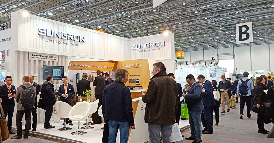 Sungrow Booth at Energy Storage Europe