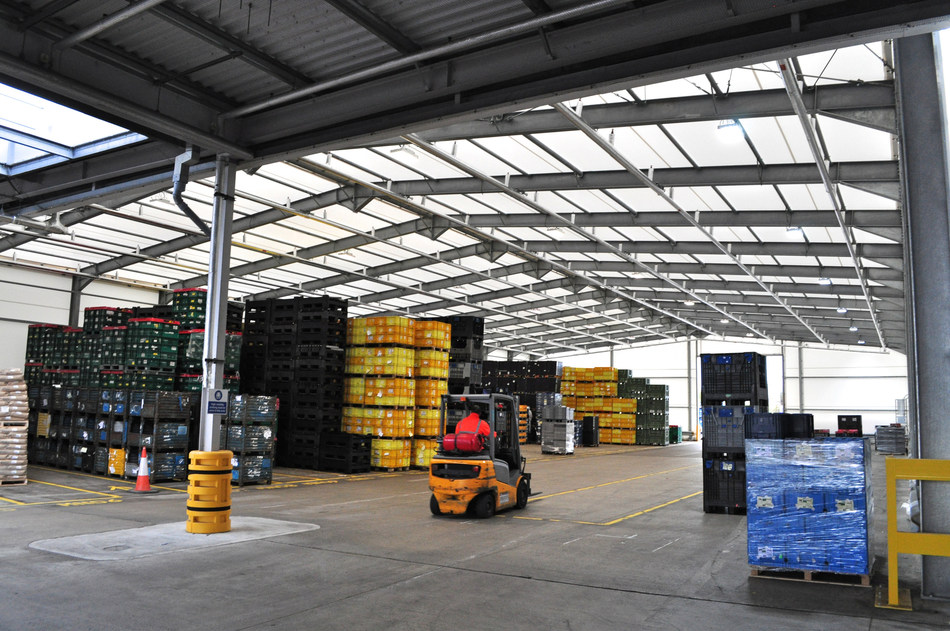 Nifco UK custom designed structure to maximise available space for storage.