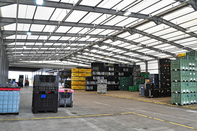Nifco UK custom storage building for automotive plastic components
