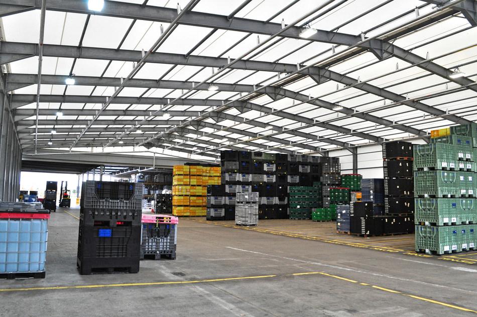 Nifco UK custom storage building for automotive plastic components