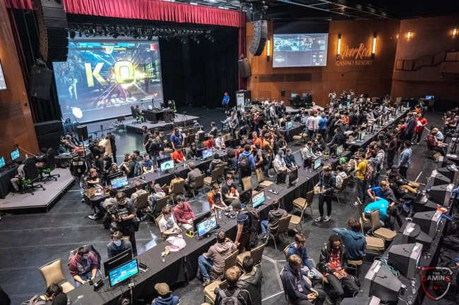 A full house of spectators and professional gamers at The Pinnacle 2018.