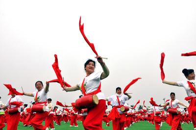 Xi'an organiza su Segundo Festival de Agricultores para promover el desarrollo agrícola en China. (PRNewsfoto/Xi'an Farmers Festival)