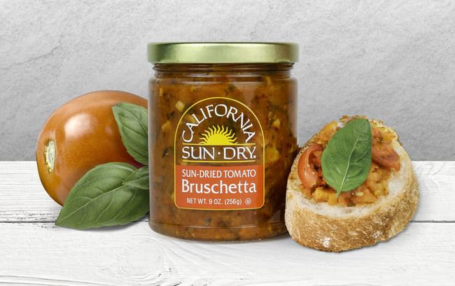 California Sun Dry Announces New Sun-Dried Tomato Bruschetta