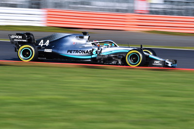 F1 W10 EQ Power+ Shakedown, Silverstone