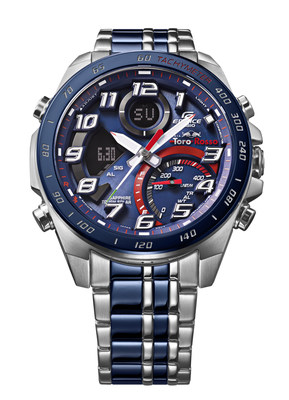 The new Casio EDIFICE Scuderia Toro Rosso Limited Edition chronograph ECB-900TR