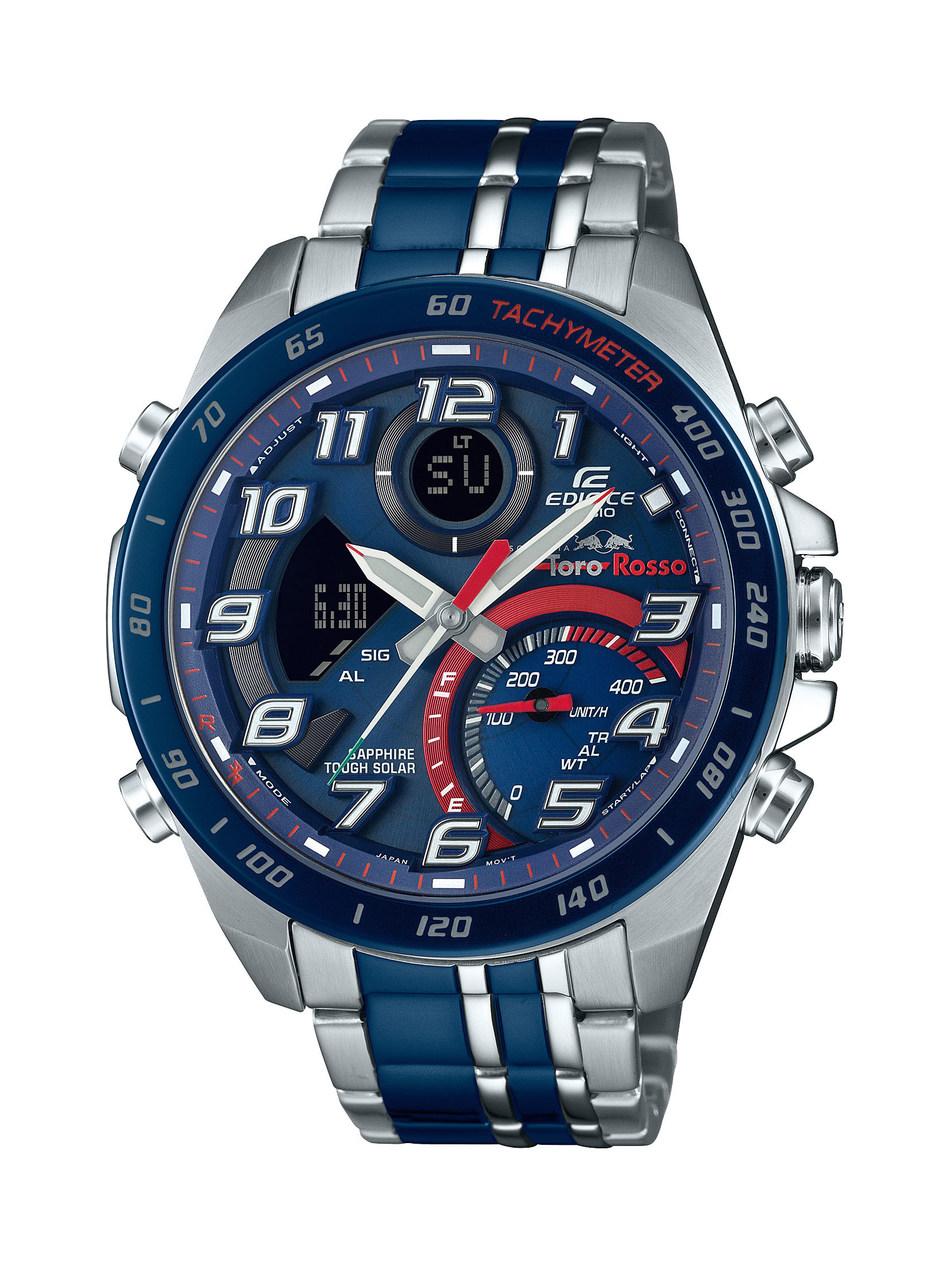 The new Casio EDIFICE Scuderia Toro Rosso Limited Edition chronograph ECB-900TR