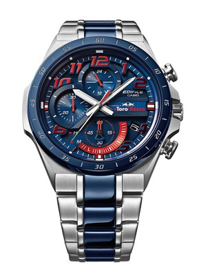 The new Casio EDIFICE Scuderia Toro Rosso Limited Edition chronograph EQS-920TR