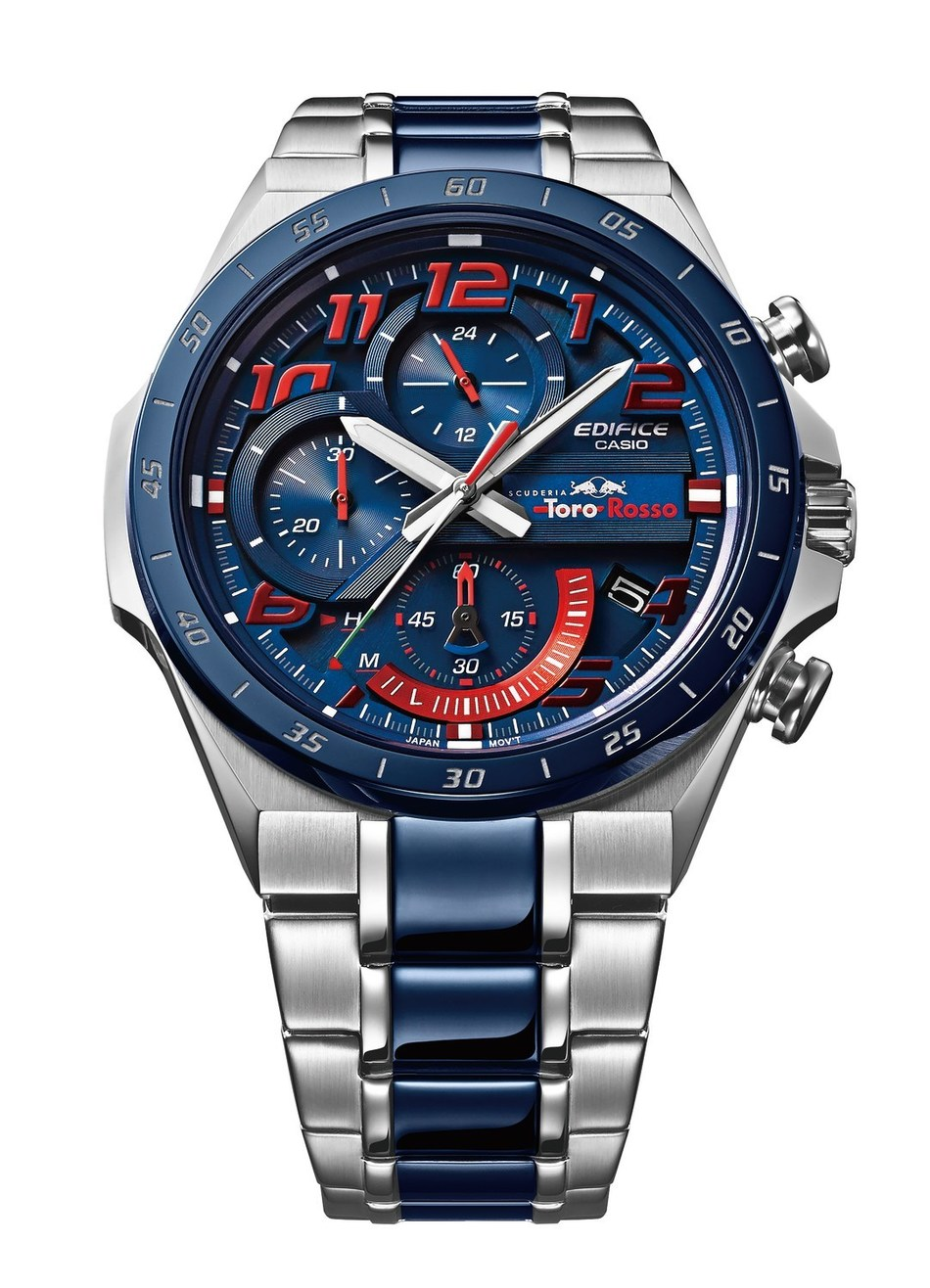 121cf7806d51 The new Casio EDIFICE Scuderia Toro Rosso Limited Edition chronograph EQS -920TR
