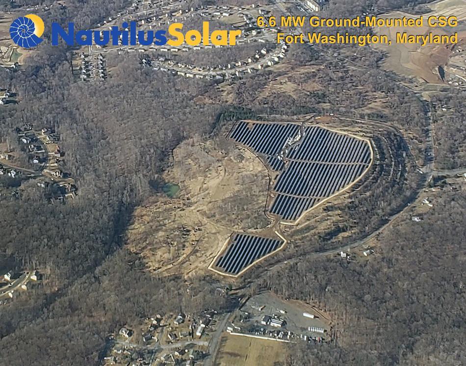 (PRNewsfoto/Nautilus Solar Energy, LLC)