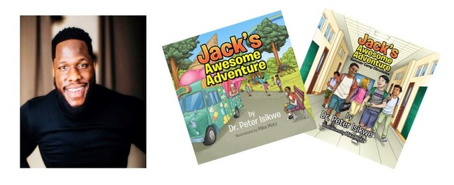 Dr. Peter Isikwe, author of Jack's Awesome Adventure, children's book series